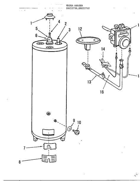 wiring diagram for rheem water heater wellread me