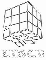 Rubik Rubiks sketch template