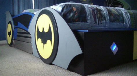 t square e d g e batman and friends room with batmobile bed