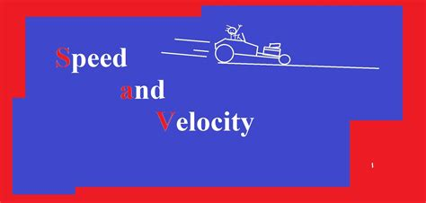 Calculating Speed And Velocity Explained!