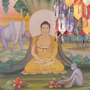Siddhartha Buddha Under Tree