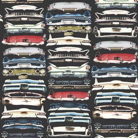 Arthouse Vip Car Pile Up American Classic Cars Vinyl