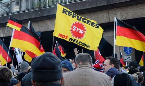 PEGIDA anti-immigration demo (and counter demos) in ...