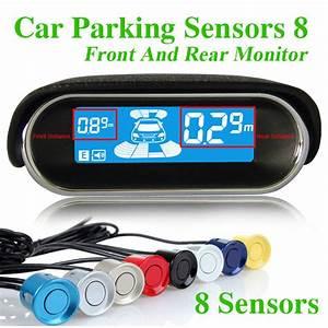 Einparkhilfe Vorne Und Hinten : einparkhilfe auto reverse parkplatz 8 sensor reverse backup radar vorne 4 und hinten 4 mit lcd ~ Yasmunasinghe.com Haus und Dekorationen