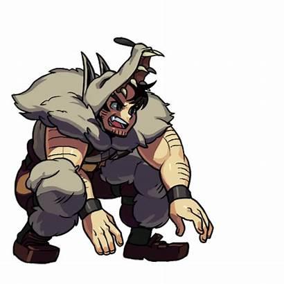 Beowulf Skullgirls Animations Artwork Todo Ver Fightersgeneration