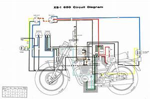 Wiring Diagram For Yamaha V Star 650