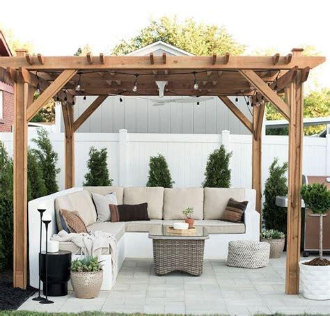 cozy diy backyard gazebo design decorating ideas garden ideas backyard patio designs