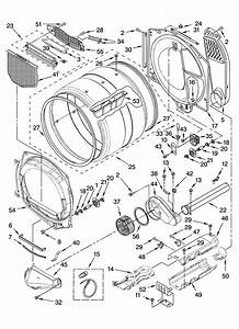 Whirlpool Model Wed8300sw1 Residential Dryer Genuine Parts