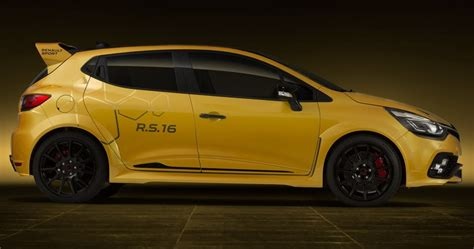 Limited Edition Renault Clio Rs 16 Considered, Could Cost