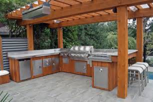 outside kitchens ideas 5 ideas to decide an outdoor kitchen design modern kitchens