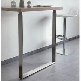 Plan De Travail Carré : pied t lescopique pi tement table de cuisine accessoires de cuisines ~ Melissatoandfro.com Idées de Décoration