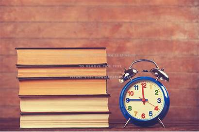 Study Desktop Books Hour Student Abstract Each