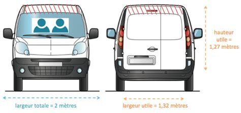 m canape quelle capacité pour une camionnette de 3m3