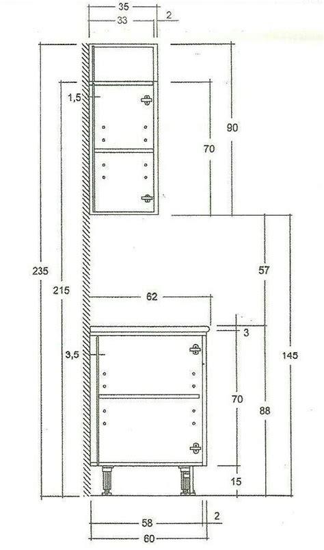 las medidas de los muebles de cocina descubrelo muebles de cocina diseno de cocina