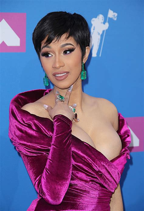 cardi bs hairstyles pics   craziest hair transformations hollywood life