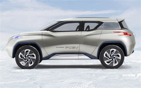Nissan Terra Photo by Nissan Terra Fcev Crossover Concept Side View Photo 11