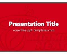 1000 images about sport powerpoint templates on pinterest With university of miami powerpoint template