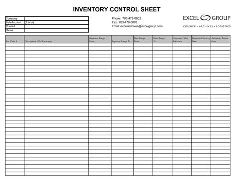 computer inventory templates in excel excel