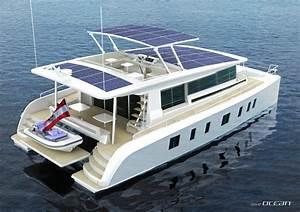 Sunwave 54 Solar Powered Catamaran In Build At Solarwave