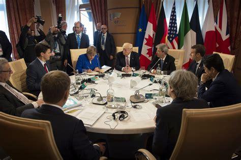 En raison de l'épidémie de coronavirus, la chancelière allemande a refusé de se rendre au sommet du g7 qui doit se tenir à washington en juin. Angela Merkel Photos Photos - G7 Leaders Meet In Sicily ...