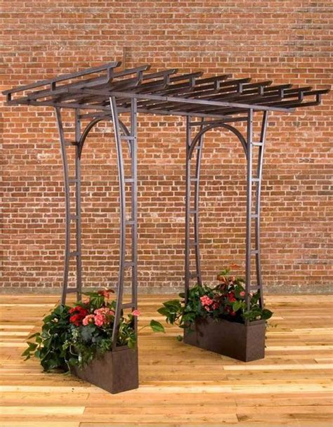 Metal Arbours To Beautify Your Wedding And Yard Concept