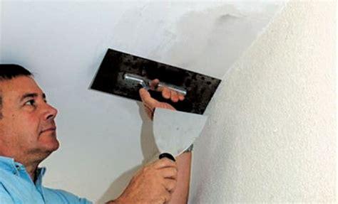 comment renover un plafond comment reparer un plafond