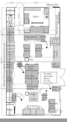 auto repair shop layout plans garage   workshop