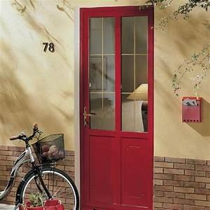 materiaux porte entree acier bois pvc alu composite With porte d entrée en verre securit