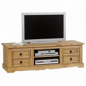 Meuble Pin Pas Cher : meuble tv en pin achat vente meuble tv en pin pas cher soldes d s le 10 janvier cdiscount ~ Teatrodelosmanantiales.com Idées de Décoration
