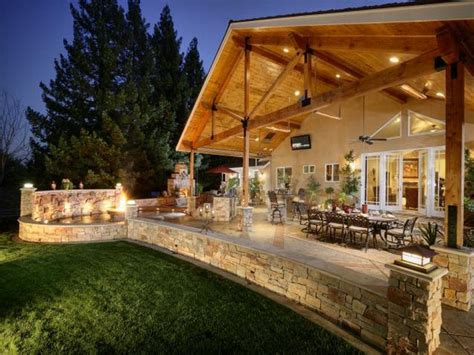 Outdoor  Covered Outdoor Living Space Lowes Outdoor