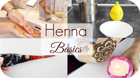 auftrag motive abwaschen henna basics sanny kaur