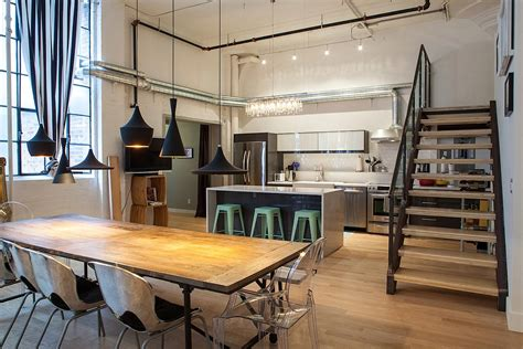 Modern Industrial Style Kitchen Design  Orchidlagooncom