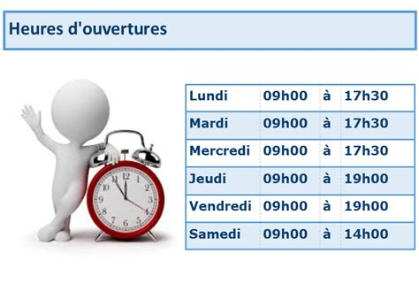 heures ouverture papeterie coupal