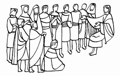 Disciples Coloring Pages Twelve Printable Disciple Acts