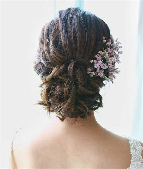 Low Updo Hairstyles beautiful low updo bridal hairstyle for brides