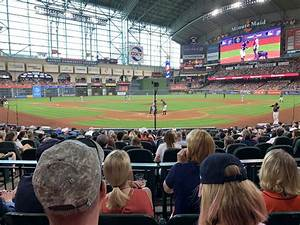 Section 119 At Minute Park Houston Astros