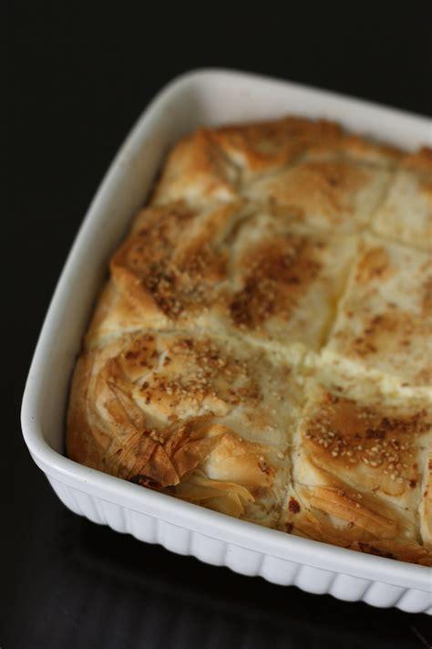 cuisine ottomane feuilleté de pâte filo aux trois fromages façon börek