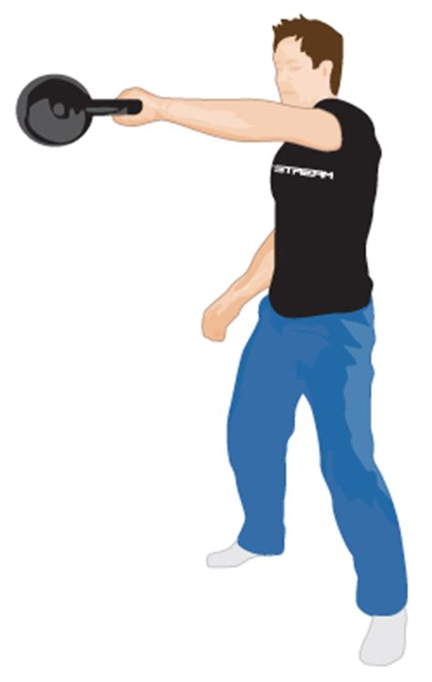 Kettle Swing Exercise by One Arm Kettlebell Swing Fitstream Kettlebell Exercises