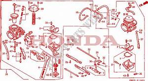 Carburetor For Honda Cmx 450 C Rebel 1986   Honda