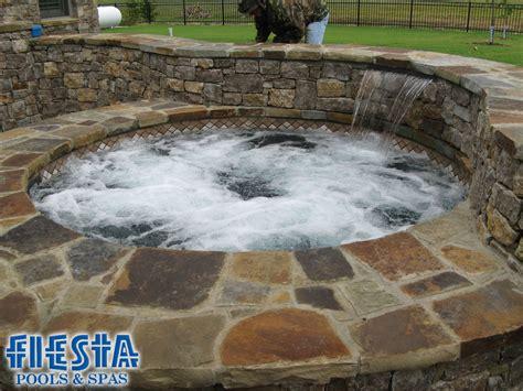 inground spa in ground hot tub in ground hot tub tranquilo pinterest
