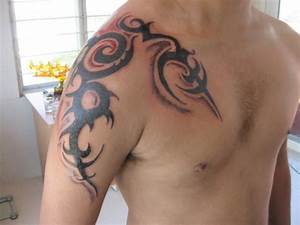 25 Tribal Shoulder Tattoos Which Are Awesome | CreativeFan