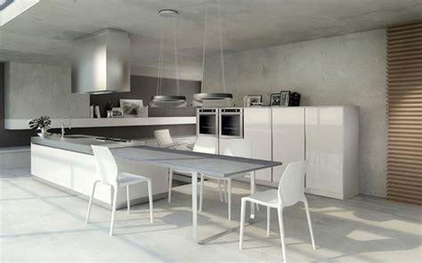 cuisine avec ilot central et table meuble cuisine ilot central meuble cuisine