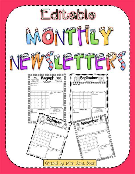 free preschool newsletter templates free daycare newsletter templates best business template
