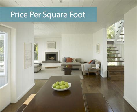 Average Price Per Square Foot Map  Discover Home Loans