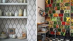 Tapisserie Pour Cuisine : quel papier peint choisir dans la cuisine ~ Premium-room.com Idées de Décoration