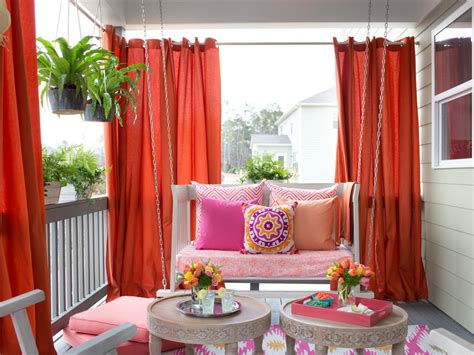 you ll these ideas for beautiful outdoor curtains diy