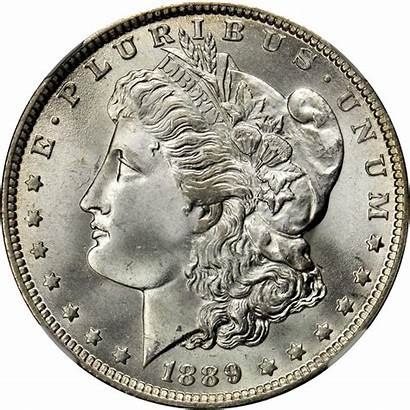 Dollar 1889 Silver Morgan Value Rare Coins