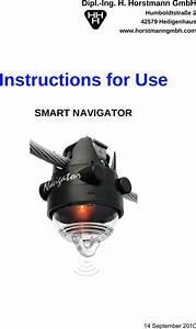 Dipl Ing H Horstmann Hhh001 Smart Navigator User Manual