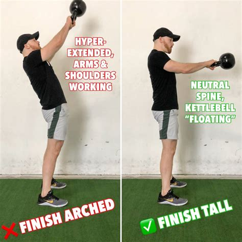 kettlebell swings tips perfect swing tall