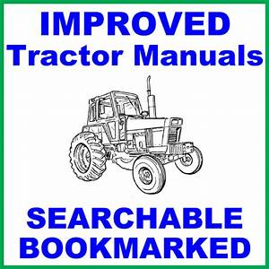 International Harvester 244 Tractor Service Shop Manual